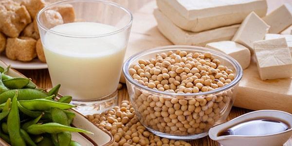 Đậu nành là thực phẩm rất tốt cho người da khô