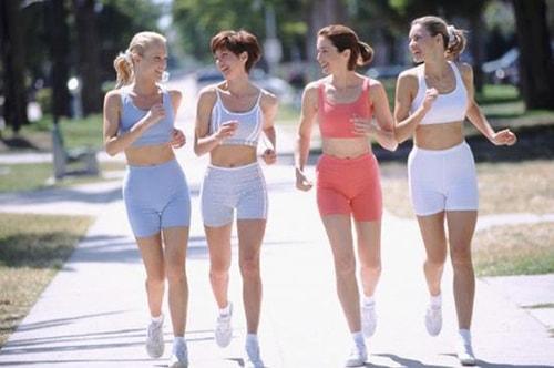 Tập luyện thường xuyên giúp bạn giảm sự lão hóa sau tuổi 35
