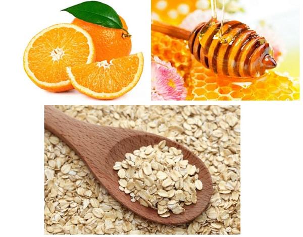 Cách trị nẻ môi, khô da mặt cho trẻ nhỏ bằng mật ong và bột yến mạch
