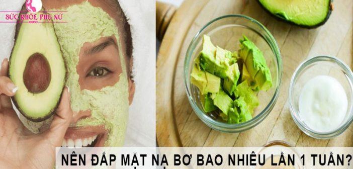 Cách làm mặt nạ bơ dưỡng da