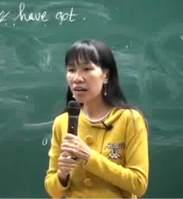 Cô giáo Nguyễn Diệp Hồng