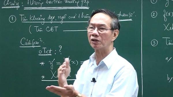 Thầy giáo Nguyễn Thượng Võ