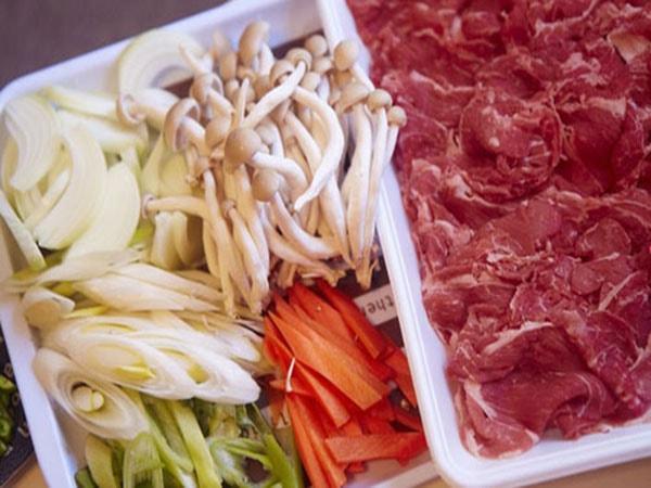 nấm rơm xào thịt bò 2