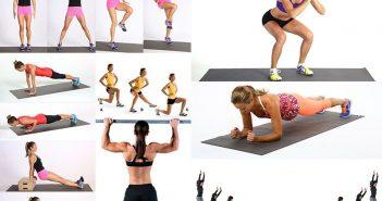 10 bài tập cardio giảm mỡ toàn thân cho nữ trong 1 tháng