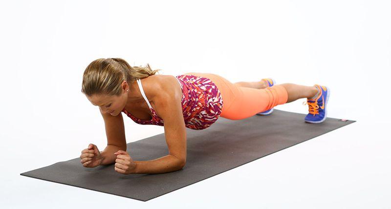 Bài tập Plank cơ bản