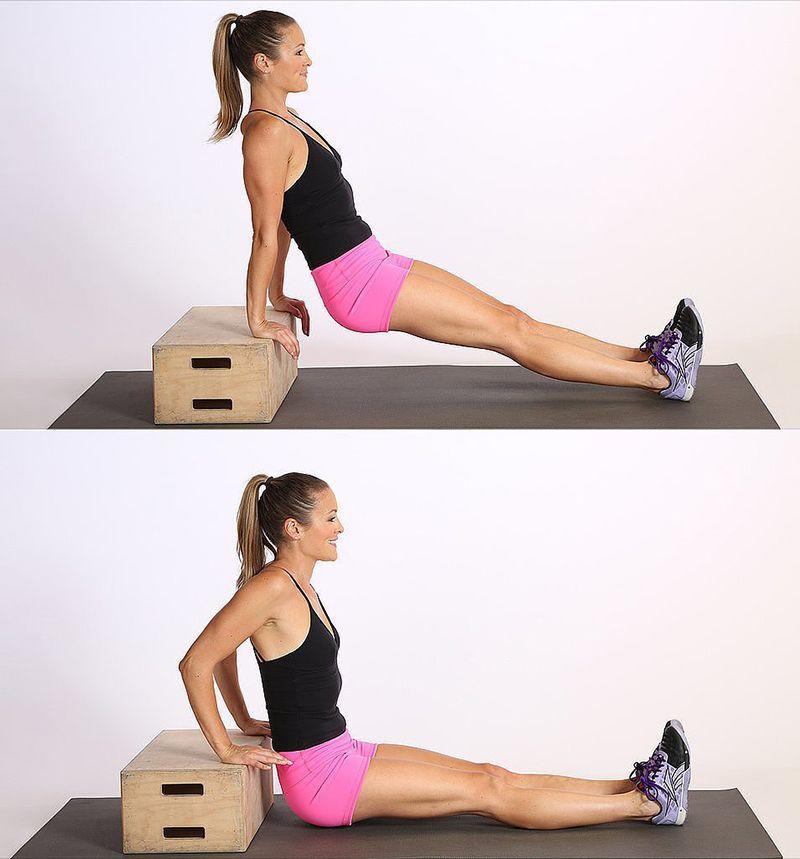 Bài tập Triceps Dips