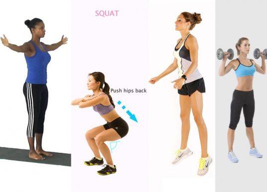 8 bài tập khởi động cho nữ trước khi tập Gym
