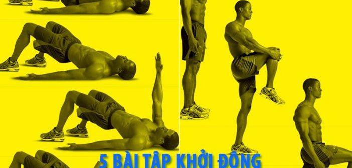 5 bài tập khởi động trước khi tập gym cho người mới tập