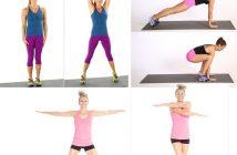 15 bài tập Jumping Jacks tay không cho chị em mới tập Gym
