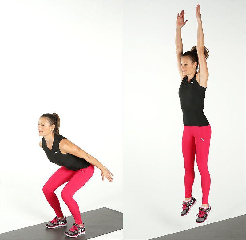 Bài tập Squat Jump