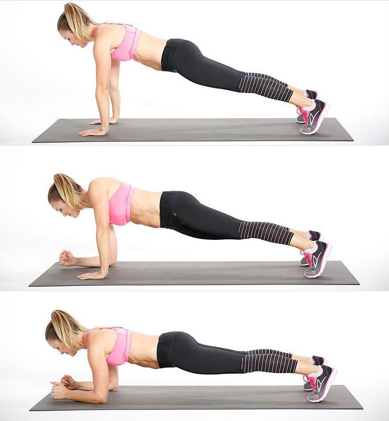 Bài tậpUp-Down Plank