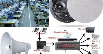 Những lợi ích khi lắp đặt âm thanh nhà xưởng