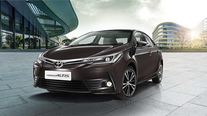 Dòng xe Toyota Corolla Altis được ưa chuộng trọng dòng xe hạng C