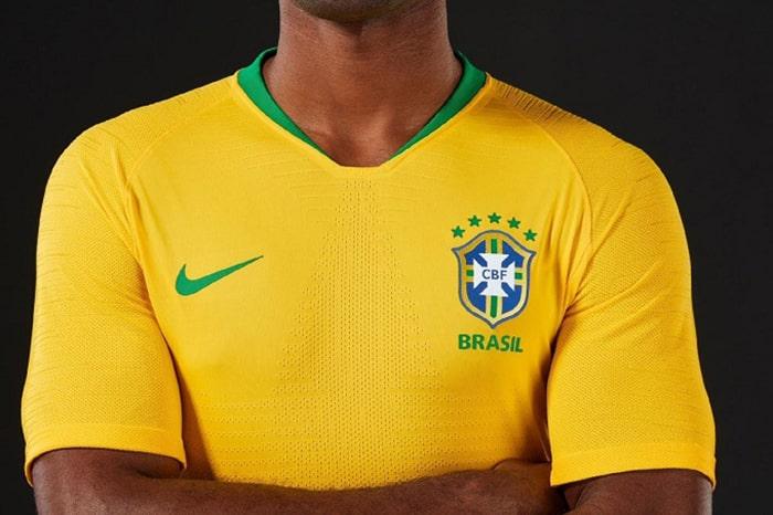Đội tuyển Brazil có áo bóng đá nổi bật
