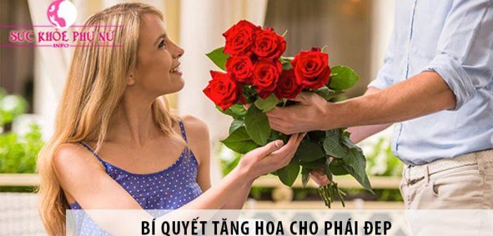 Bí quyết tặng hoa cho phái đẹp