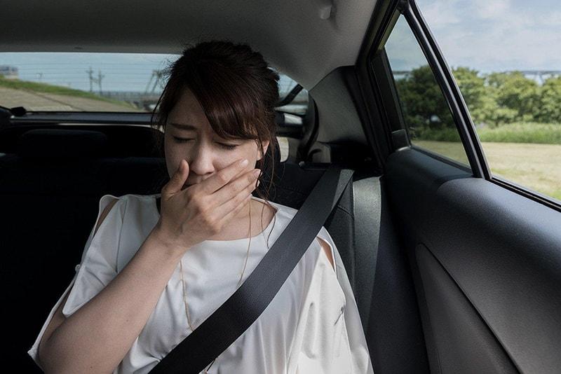 Khi mang thai, chị em phụ nữ càng dễ bị say xe dù trước đó chưa từng bị