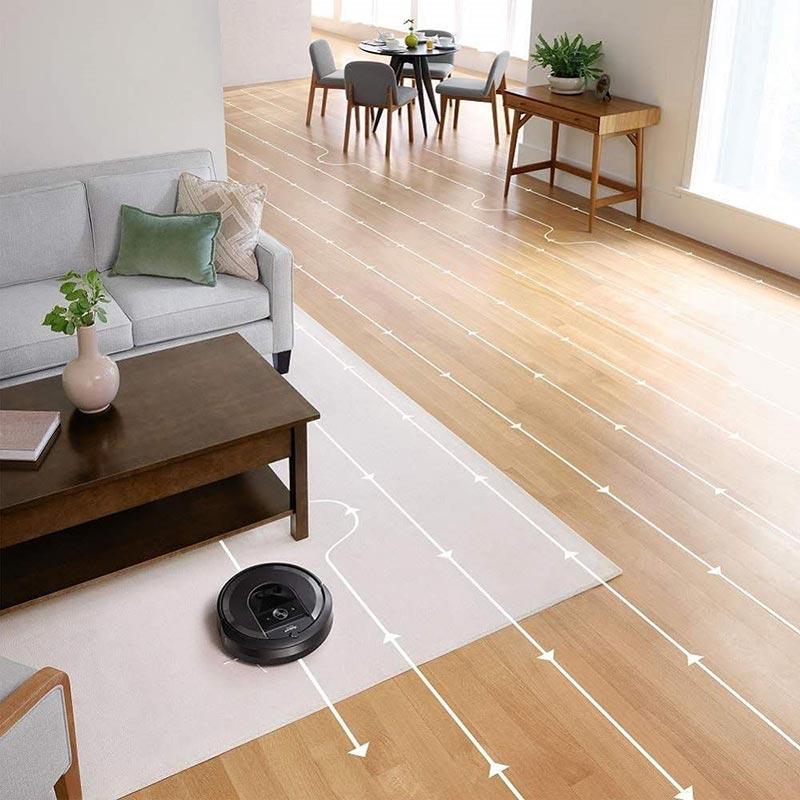IRobot Roomba i7 Plus có khả năng di chuyển thông minh