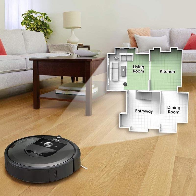 IRobot Roomba i7 Plus có khả năng ghi nhớ thông minh