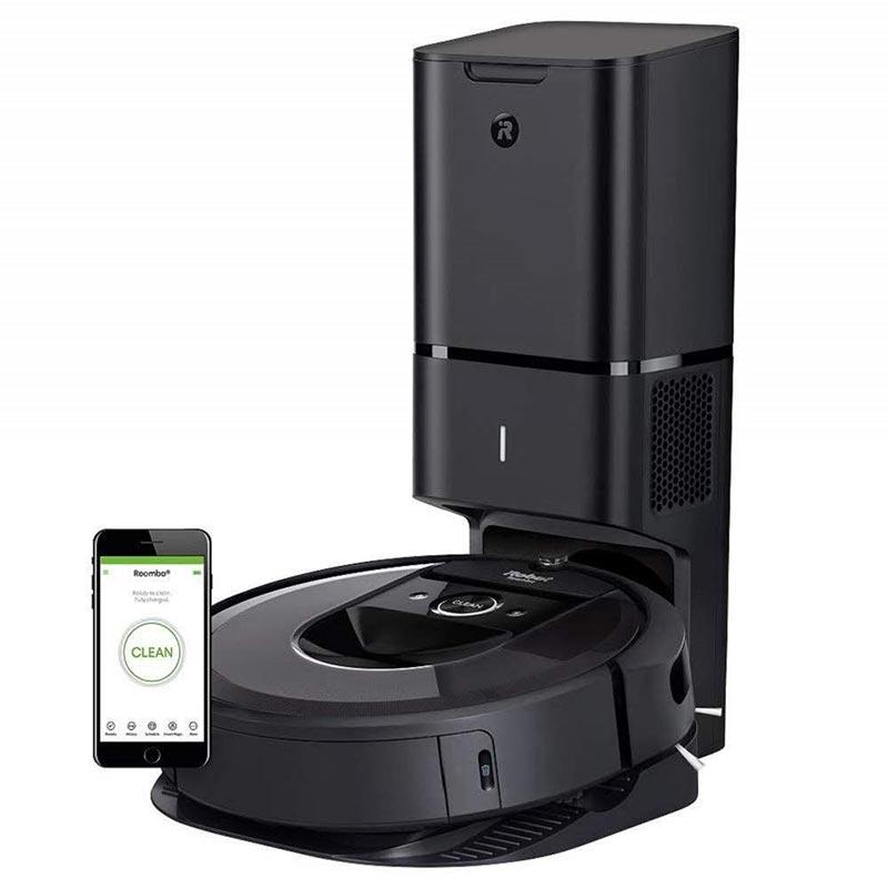 IRobot Roomba i7 Plus có thiết kế nổi trội