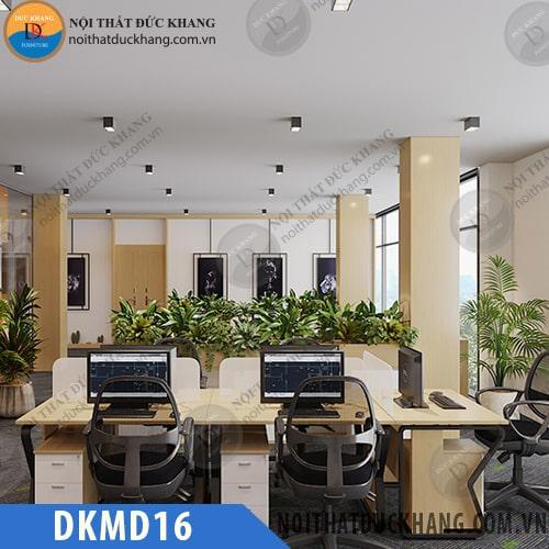 Cụm bàn làm việc 5 chỗ ngồi DKMD16