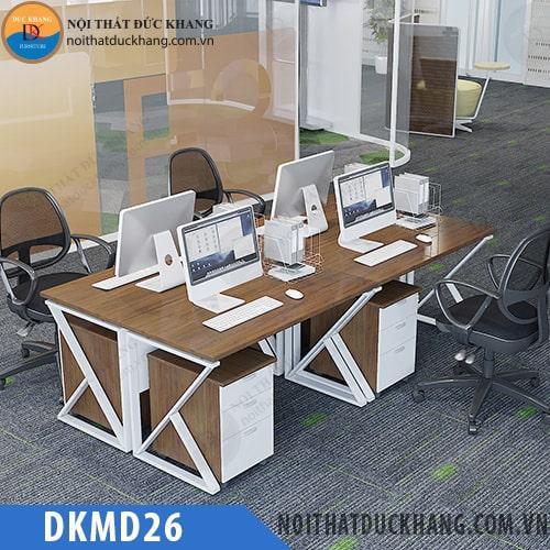 Cụm bàn làm việc 4 người ngồi DKMD26