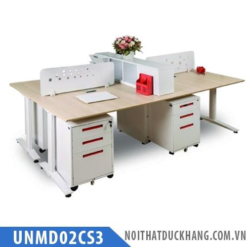 Bàn làm việc 4 chỗ UNMD02CS3