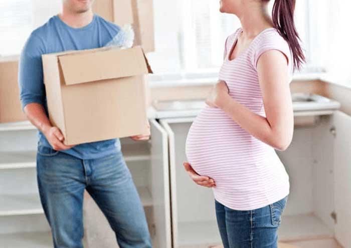 Vì sao người mang bầu kiêng chuyển nhà, thuê nhà mới mới?