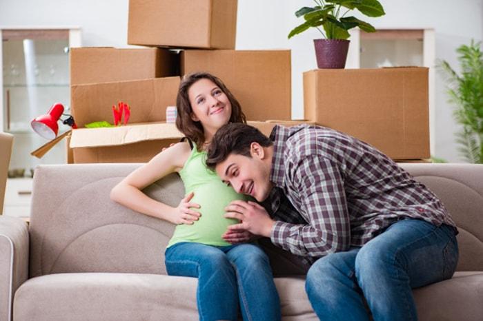 Vậy có nên chuyển nhà, thuê nhà mới khi mang bầu?