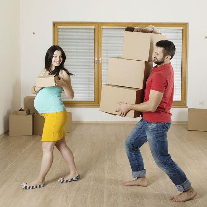 Lời khuyên hữu ích khi chuyển nhà, thuê nhà cho bà bầu