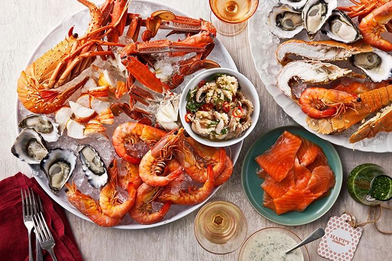 Các loại hải sản cũng có nhiều chất sắt, có ích trong việc điều trị thiếu máu