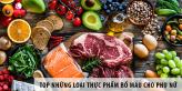 Top những loại thực phẩm giúp bổ máu cho phụ nữ