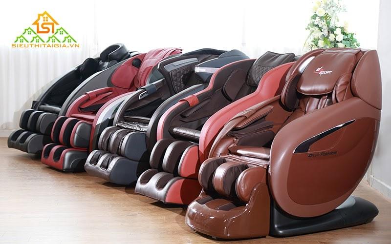 Ghế massage toàn thân có nhiều công dụng đối với sức khỏe