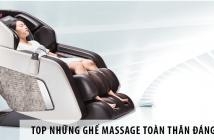 Top Những Ghế Massage Toàn Thân Đáng Mua Nhất Hiện Nay