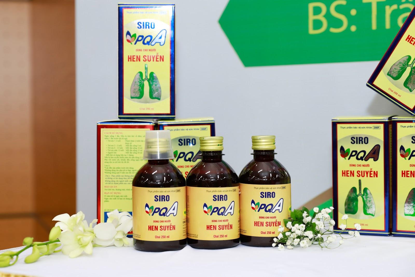 PQA Hen Suyễn - thông thoáng đường thở cho người hen phế quản