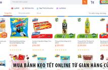 Mua bánh kẹo Tết online chính hãng từ gian hàng của URC